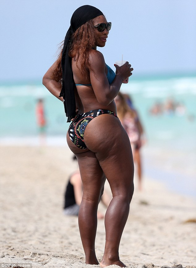 Not Serena williams bikini