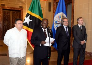 Ambassador of Saint Kitts and Nevis Presents Credentials