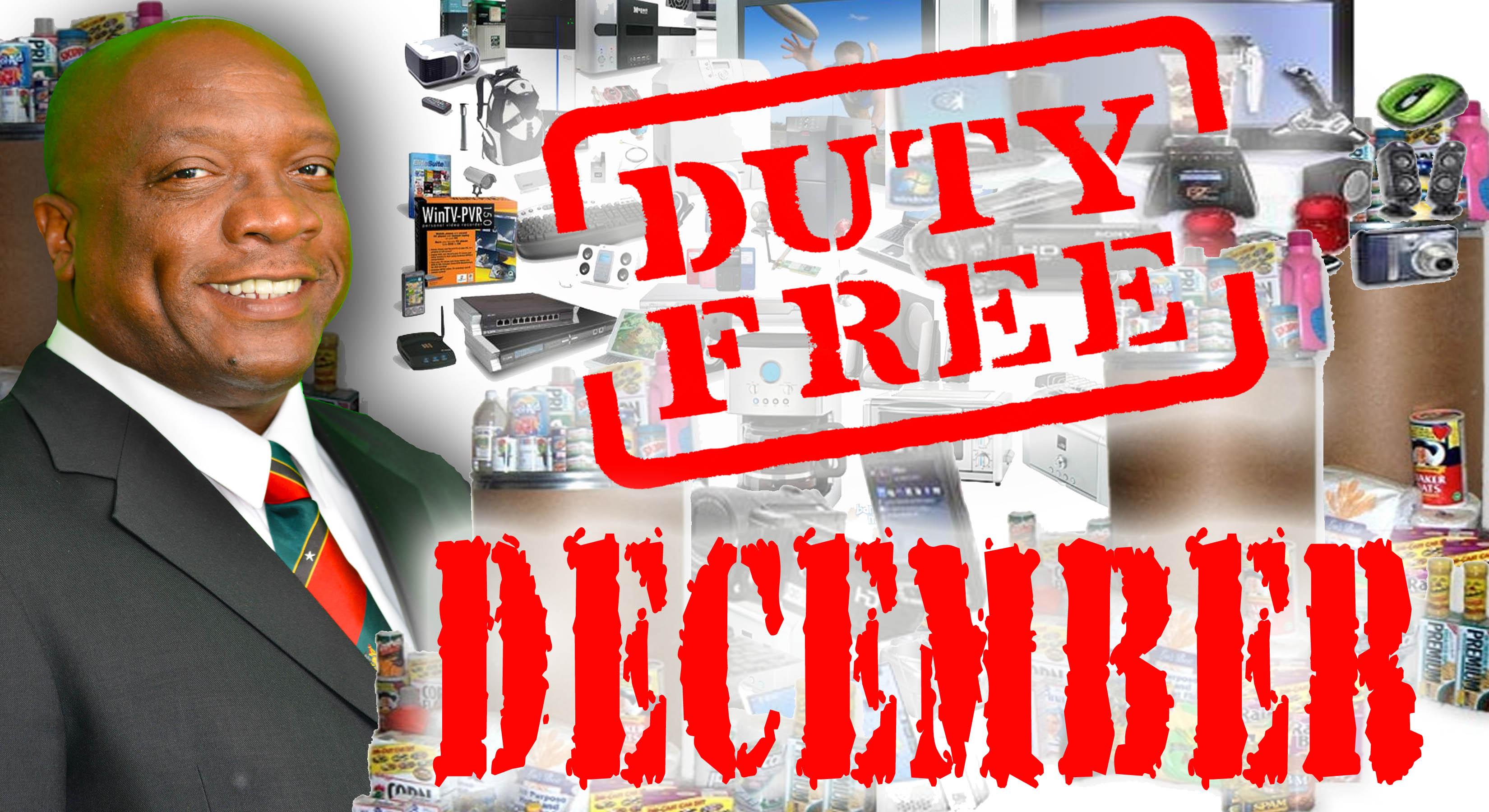 DUTY FREE december